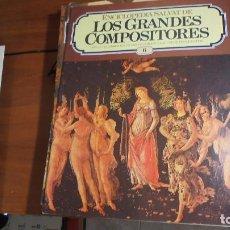 Catálogos de Música: ENCICLOPEDIA SALVAT LOS GRANDES COMPOSITORES - 11 FASCÍCULOS. Lote 101363003