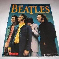 Catálogos de Música: THE BEATLES, JORGE L. REVILLA, EDITORIAL LA MASCARA, IMAGENES DE ROCK N. 35, 1994. Lote 101438987