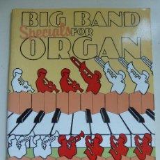 Catalogues de Musique: CANCIONERO. PARTITURAS. BIG BAND FOR ORGAN . Lote 102166947