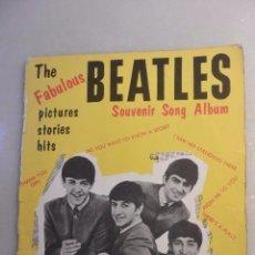 Catálogos de Música: REVISTA THE FABULOUS BEATLES SOUVENIRS SONG ALBUM. LONDRES 1963. Lote 102499523