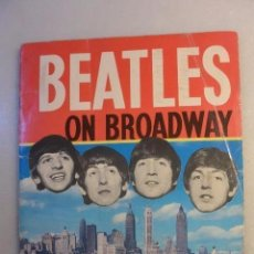 Catálogos de Música: BEATLES ON THE BROADWAY. WORDS AND PICTURES BY SAM LEACH. 1964. Lote 102499647