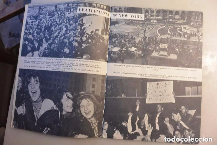 Catálogos de Música: BEATLES ON THE BROADWAY. WORDS AND PICTURES BY SAM LEACH. 1964 - Foto 4 - 102499647