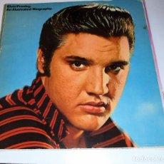 Catálogos de Música: ELVIS PRESLEY - AN ILUSTRATED BIOGRAPHY - 1979 - RARO. Lote 102970979