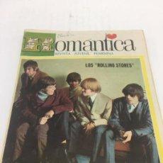 Catálogos de Música: PORTADA DE LOS ROLLING STONES , AÑOS 60 , POSTER CENTRAL CLIFF RICHARD , VIRNA LISI. Lote 103013379