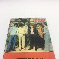 Catálogos de Música: CANCIONERO HITS PRES , FORMULA V , - 1970. Lote 103016787