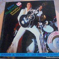 Catálogos de Música: ELVIS PRESLEY - ELVIS 73 HAWAIIAN SPIRIT) - JOSEPH A.TUNZI. Lote 103077631