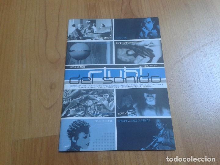 CATÁLOGO DE MÚSICA -- CLUB DEL SONIDO -- VERANO 2001 -- DEAD KENNEDYS, NICK CAVE, THE PIXIES (Música - Catálogos de Música, Libros y Cancioneros)