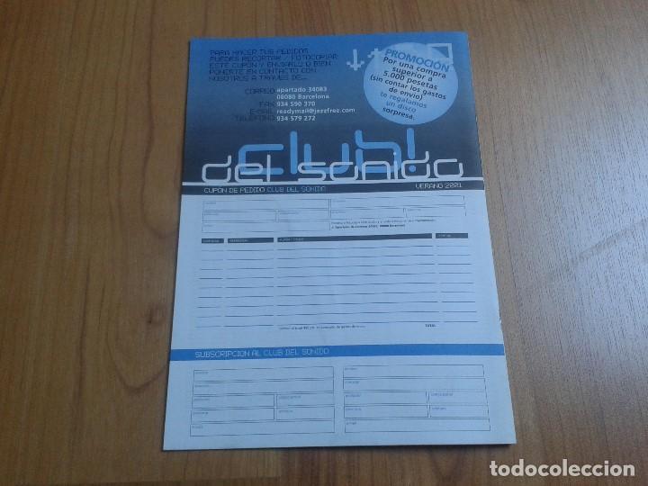 Catálogos de Música: Catálogo de música -- CLUB DEL SONIDO -- Verano 2001 -- Dead Kennedys, Nick Cave, The Pixies - Foto 7 - 103676635