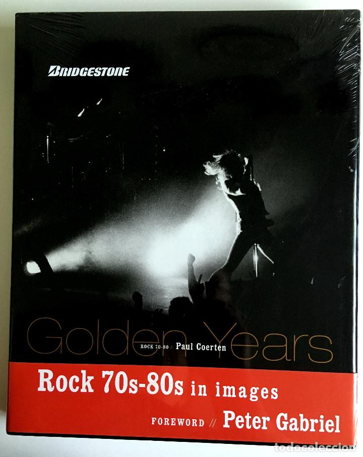 Catálogos de Música: LIBRO GOLDEN YEARS - ROCK 70s-80s IN IMAGES. TEXTO EN INGLÉS. - Foto 1 - 103679503