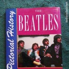 Catálogos de Música: BEATLES - A PICTORIAL HISTORY- LIBRO-TAPA DURA-REINO UNIDO- MARIE CAHILL-. Lote 104412967