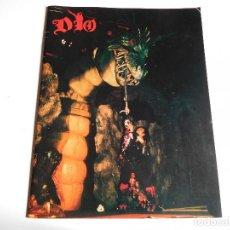 Catálogos de Música: PROGRAMA DE LA GIRA POR JAPÓN DE DIO AÑO 1986 JAPAN TOUR LIBRO BLACK SABBATH RAINBOW. Lote 104979799