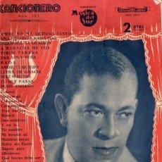 Catálogos de Música: CANCIONERO ANTONIO MACHÍN. Lote 105011123