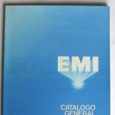 Catálogos de Música: CATALOGO GENERAL EMI 1980 BEATLES ROLLING STONES PINK FLOYD THE SHADOWS QUEEN. Lote 105789943