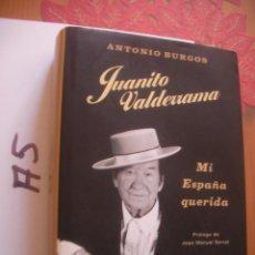 Catálogos de Música: JUANITO VALDERRAMA - ANTONIO BURGOS. Lote 106660131