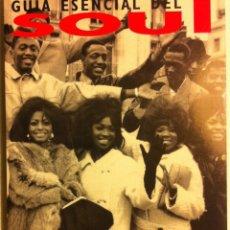 Catálogos de Música: GUIA ESENCIAL DEL SOUL - PATRICIA GODES - EDITORIAL LA MÁSCARA - 1994. Lote 107545103