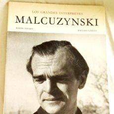 Catálogos de Música: LOS GRANDES INTERPRETES MALCUZYNSKI; ROGER HAUERT, BERNARD GAVOTY - EDITIONS RENÉ KISTER 1957. Lote 107996687