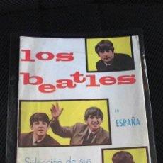 Catálogos de Música: LOS BEATLES EN ESPAÑA CANCIONERO ORIGINAL ESPAÑA 1964 EXCELENTE ESTADO DE CONSERVACION COLECCION . Lote 108797543