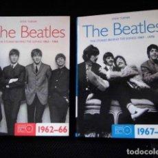 Catálogos de Música: BEATLES DOBLE VOLUMEN LIBROS TODAS LAS CANCIONES COMPOSICIONES COLECCION BEAT. Lote 108868307