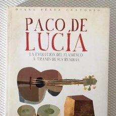 Catálogos de Música: PACO DE LUCÍA - LA EVOLUCIÓN DEL FLAMENCO A TRAVÉS DE SUS RUMBAS -2015. Lote 109190727