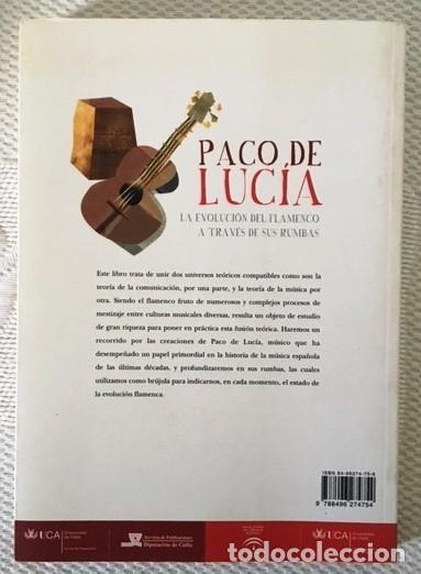 Catálogos de Música: PACO DE LUCÍA - LA EVOLUCIÓN DEL FLAMENCO A TRAVÉS DE SUS RUMBAS -2015 - Foto 2 - 109190727