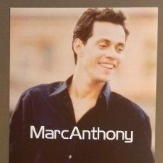Catálogos de Música: CARTEL PUBLICITARIO PROMOCIONAL MARC ANTHONY. MARC ANTHONY. SONY. 30 CM. NUEVO. Lote 109210731