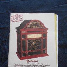 Catálogos de Música: REVISTA BOLETIN BID - BOLETIN INFORMATIVO DISCOPLAY - ABRIL 1994. Lote 110381451
