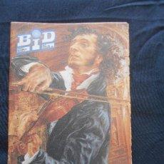 Catálogos de Música: REVISTA BOLETIN BID - BOLETIN INFORMATIVO DISCOPLAY - NOV. 1992. Lote 110382163