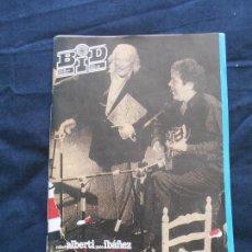 Catálogos de Música: REVISTA BOLETIN BID - BOLETIN INFORMATIVO DISCOPLAY - JUNIO 1992. Lote 110383323