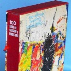 Catálogos de Música: 100 AÑOS DE CANCION Y MUSIC HALL. Lote 110724391