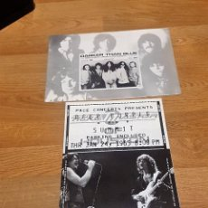 Catálogos de Música: RICHIE BLACKMORE / DEEP PURPLE 2 OFFICIAL CLUB FANS DARKER THAN BLUE 1984/85 -LED ZEPPELIN. Lote 111197071