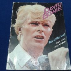 Catálogos de Música: LIBRO BOOK DAVID BOWIE ( OUT OF THE COOL ) BY PHILIP & PETER GODDARD 1983 MUSSON 125 PAGINAS. Lote 112222395