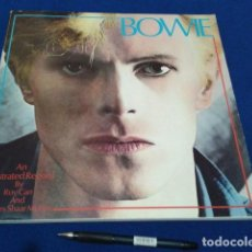 Catálogos de Música: LIBRO DAVID BOWIE 1981 AN ILLUSTRATED RECORD BY ROY CARR AND CHARLES SHAAR MURRAY 120 PAGINAS INGLES. Lote 113198719