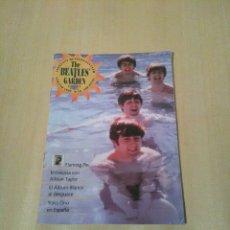 Catálogos de Música: THE BEATLES GARDEN, VERANO 1997, N° 18. SERGEANT BEATLES FAN CLUB.. Lote 113318332