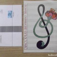 Catálogos de Música - DISCOPLAY-INFORMATIVO MUSICAL-D6-14 PAGINAS-OCTUBRE 1982 - 113971779