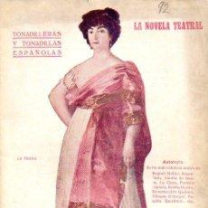 Catálogos de Música: TONADILLERAS Y TONADILLAS ESPAÑOLAS (LA NOVELA TEATRAL, 1919). Lote 114081751