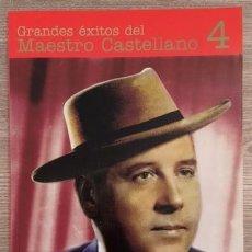 Cataloghi di Musica: GRANDES ÉXITOS DEL MAESTRO CASTELLANO - LETRAS Y PARTITURAS. Lote 115284999