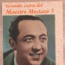 Cataloghi di Musica: GRANDES ÉXITOS DEL MAESTRO MOSTAZO - LETRAS Y PARTITURAS. Lote 115285755