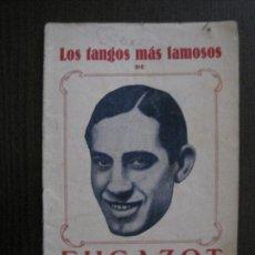 Catálogos de Música: LOS TANGOS MAS FAMOSOS - FUGAZOT -VER FOTOS-(V-13.862). Lote 115713823