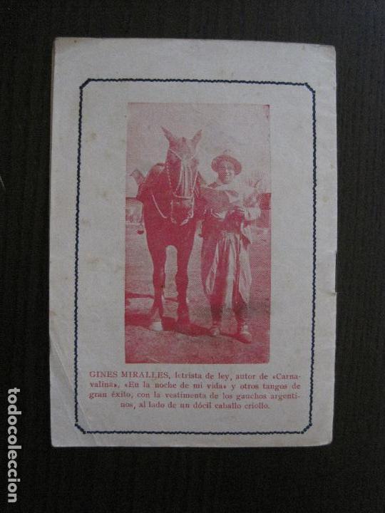 Catálogos de Música: LOS TANGOS MAS MODERNOS - DEMARE -VER FOTOS-(V-13.863) - Foto 5 - 115713979