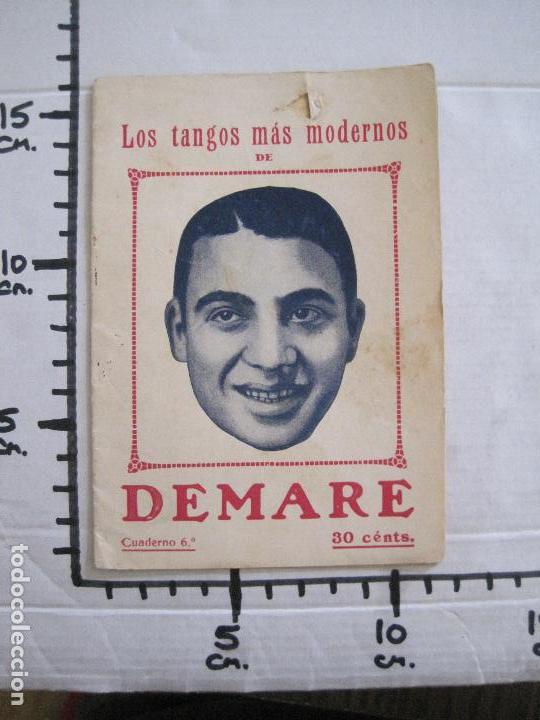 Catálogos de Música: LOS TANGOS MAS MODERNOS - DEMARE -VER FOTOS-(V-13.863) - Foto 6 - 115713979