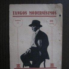 Catálogos de Música: TANGOS MODERNISIMOS - AZUCENA MAIZINI -VER FOTOS-(V-13.867). Lote 115715075