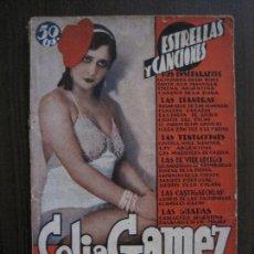 Catálogos de Música: CELIA GAMEZ - SU ARTE SU VIDA SUS CANCIONES -VER FOTOS-(V-13.871). Lote 115715979