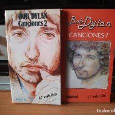 Catálogos de Música: SPIRAL BOB DYLAN CANCIONES 1 Y 2. Nº. 96 Y 97 2000 PDELUXE. Lote 116373207