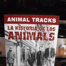 Catálogos de Música: EDICIONES LENOIR ANIMAL TRACKS 184 PAGS.FOTOS B/N. 2007 PDELUXE. Lote 116555891