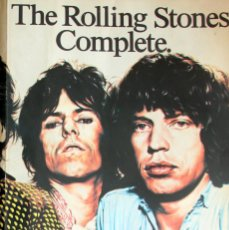 Catálogos de Música: THE ROLLING STONES COMPLETE LYRICS & GUITAR - EMI/OMNIBUS PRESS 1963-81 (70 FOTOS). Lote 116573707