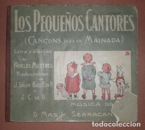 Catálogos de Música: APELES MESTRES: LOS PEQUEÑOS CANTORES (CANÇONS PERA LA MAINADA) - Foto 4 - 116934591