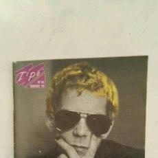 Catálogos de Música: REVISTA CATÁLOGO MÚSICA ROCK TIPO N° 85 FEBRERO 99 LOU REED CLIPPING. Lote 117338263