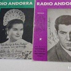 Catálogos de Música: LA VOZ DE RADIO ANDORRA. Lote 117676943