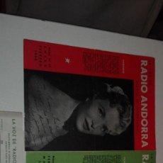 Catálogos de Música: LA VOZ DE RADIO ANDORRA. Lote 117677399