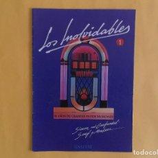 Catálogos de Música: COLECCION LOS INOLVIDABLES Nº 1 SALVAT. Lote 117770987